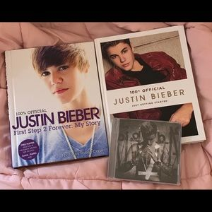 Other - Justin Bieber Books + Purpose Album